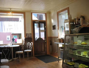 The new Alternative Baker store in Rosendale, NY -- interior shot